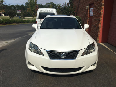 Lexus IS 350_ Paint Protection_ Columbia Dent Center